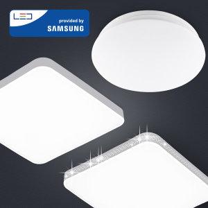 LED방등 거실등 조명 등기구 원형방등 30W 무료배송