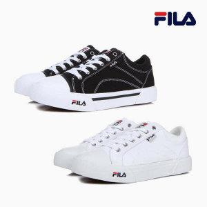 (현대Hmall) 휠라  FILA 꼬모 블랙/화이트 2종 COMO 남녀공용 커플 단화 데일리 스니커즈 운동화 (1XM01003