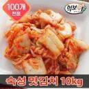 빛 숙성 맛김치 10kg 썰은 김치/해썹/배추김치/반찬 V