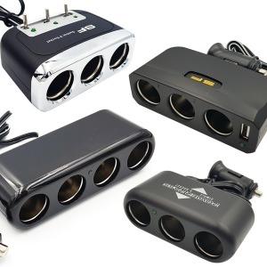 2구 3구 4구 USB 차량용 멀티시거잭 24V 12V 시가소켓