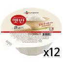 CJ 햇반 큰공기 300g x 12개 / 즉석밥 백미 밥