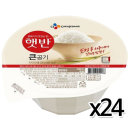 CJ 햇반 큰공기 300g x 24개 / 즉석밥 백미 밥