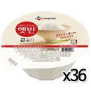 CJ 햇반 큰공기 300g x 36개 / 즉석밥 백미 밥