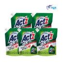 액츠 퍼펙트 액체세제 세탁세제 안티박 리필 2.2L 5개