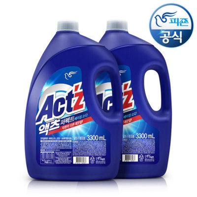 [액츠] 세탁세제 액츠 퍼펙트 3.3L x2개 베이킹