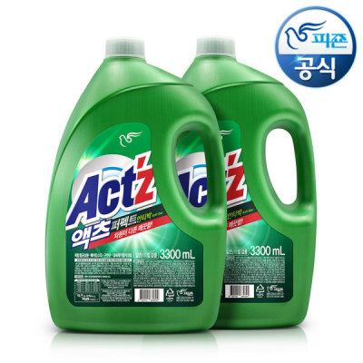 [액츠] 세탁세제 액츠 퍼펙트 3.3L x2개 안티박
