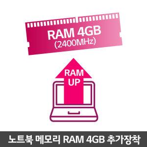 노트북 전용 램 4GB 추가장착