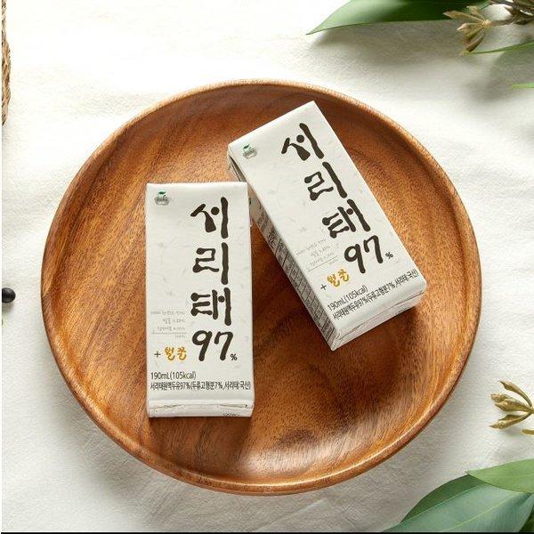 두보원 서리태 97두유 40입 / NONGMO국산서리태콩콩물