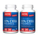 2개 Jarrow 오메가3 EPA DHA 밸런스 600 mg 240 소프트젤