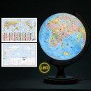 30cm 키즈 타임존 조명 지구본 30-KZL / 어린이 LED