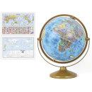 30cm 블루 파인 지구본 30-BF / 360도회전 지구의