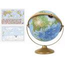 30cm 지형 파인 지구본 30-TF / 360도회전 높낮이