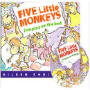 노부영 세이펜 Five Little Monkeys Jumping on the Bed  (PB+CD) 송애니메이션