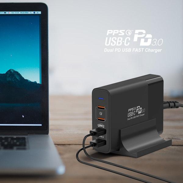 UM2 PD 고속 멀티 충전기 QCPD150W PD3.0 PPS QC3.0