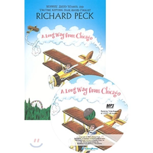 A Long Way From Chicago (Book+ MP3 CD)  Richard Peck