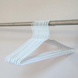 세탁소옷걸이 1개 15인치/바지걸이 논슬립 옷커버