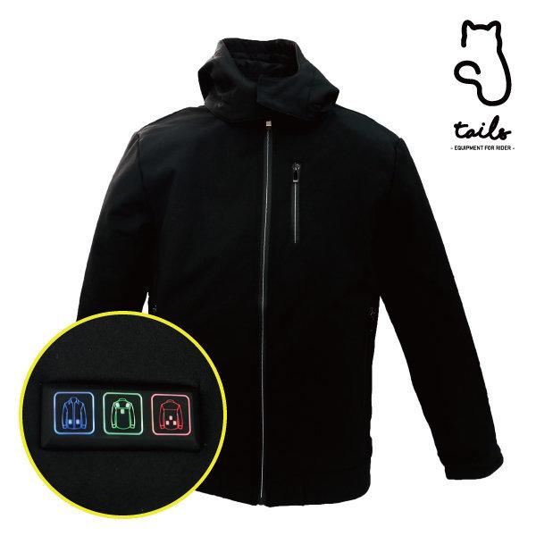 테일즈 USB 보온 열선 발열 패드 스마트 후드 자켓