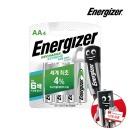 에너자이저 고출력 충전지/충전용 건전지 AA 4입
