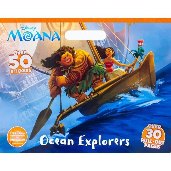 Disney Moana Ocean Explorers Coloring Floor Pad : Over 30 Pull-Out Pages  Parragon Books Ltd (COR)