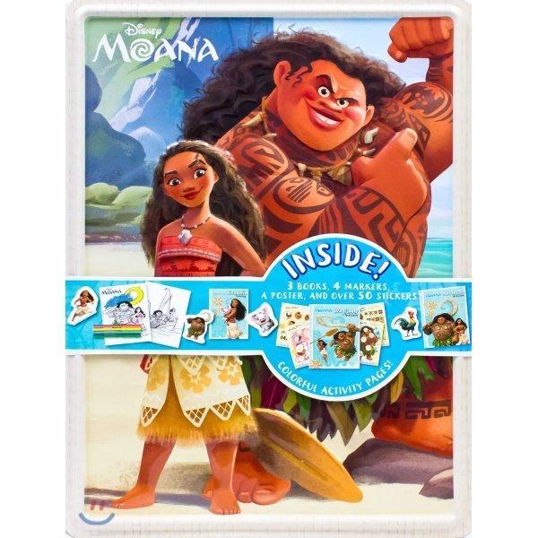 Disney Moana Collector s Tin  Parragon Books Ltd (COR)