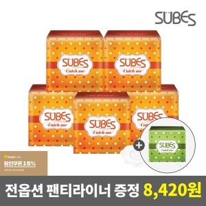 슈베스 생리대 5팩+팬티라이너 증정+쿠폰15%