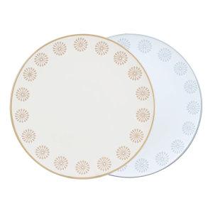 플레임 접시 (대) 2개 색상선택