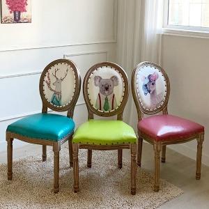 루이송 비앙카 의자 편안하고 푹신한 포인트가구 추천