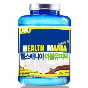 단백질 헬스보충제 헬스매니아WPC 초코맛 2kg