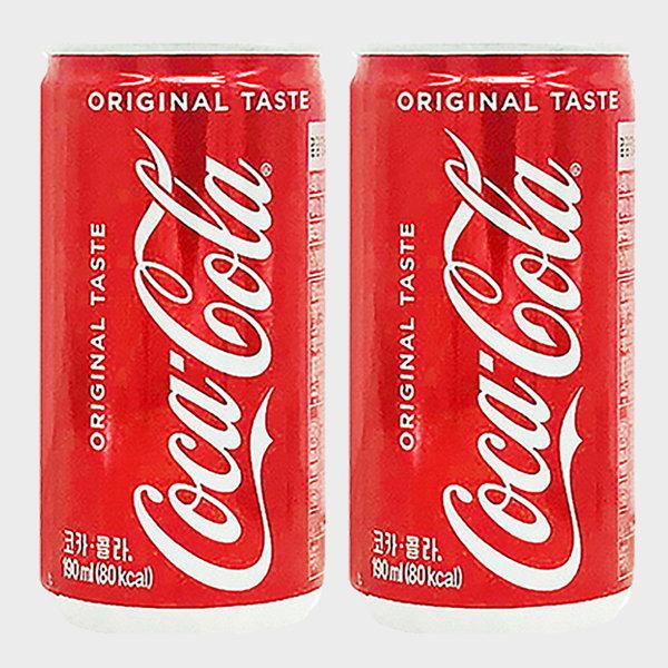 코카콜라190ml 30캔 콜라캔음료 탄산캔