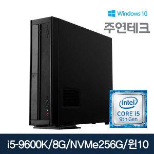 주연테크 SSD-BTI96S25K I5-9600K/8G/NVMe256g/윈10