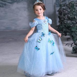 신데렐라 큐티나비 공주 드레스 코스튬 어린이 선물