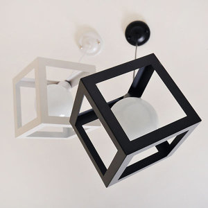 큐브 1등 팬던트 식탁등 주방등 식탁조명
