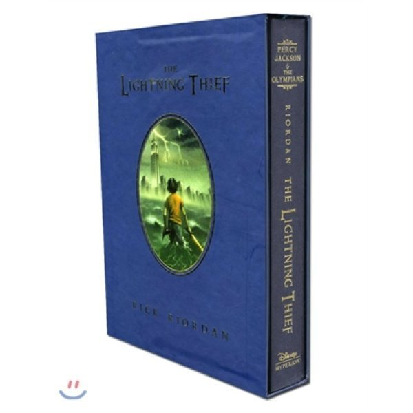 Percy Jackson and the Olympians  1 : The Lightning Thief (Deluxe Edition)  Rick Riordan  John R...