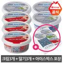 필라델피아 크림치즈+딸기치즈 200g 각 3개 / 아이스팩