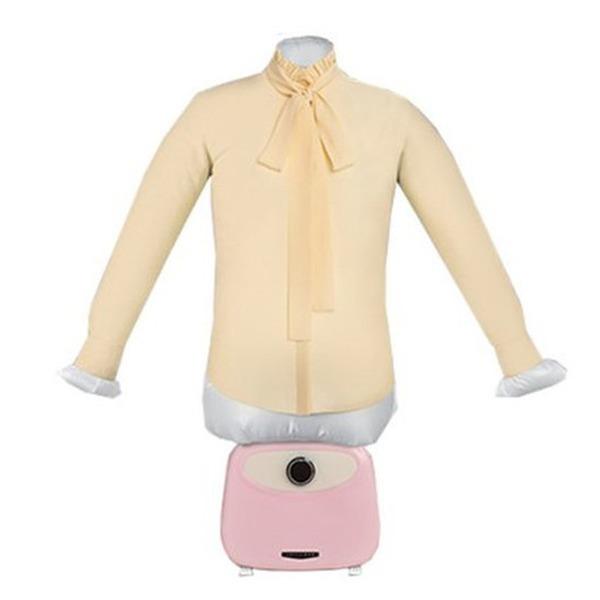 루프트 아이언 공기 스팀 다리미 의류건조기 (핑크)
