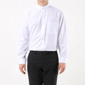 남성 차이나칼라 긴팔 와이셔츠 / 1011 화이트