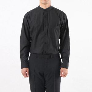 남성 차이나칼라 긴팔 와이셔츠 / 1013 블랙