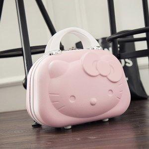 헬로 키티 14인치 미니 캐리어 예쁜 핑크 레디백 가방
