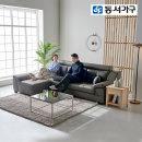 스카온 천연가죽 4인소파 +카우치스툴 DF638174