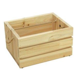 원목 삼나무 공간 수납 박스 수납함 소 사각 소품