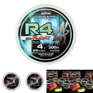 R4 플로팅 (백색) 3.5 바다 낚시 줄 낙시 세미 나일