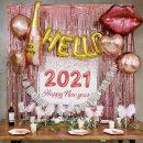 Hello 2021 연말파티세트(6인 풀세트) / 파티용품
