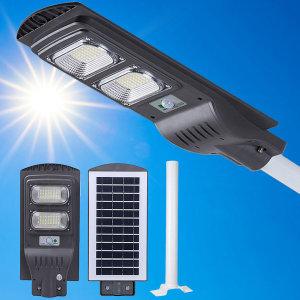 96LED 태양광 센서 가로등 야외 조명 태양열 정원등