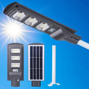 144LED 태양광 센서 가로등 야외 조명 태양열 정원등