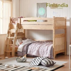 핀란디아 에피나 2층침대 /자작나무 원목침대