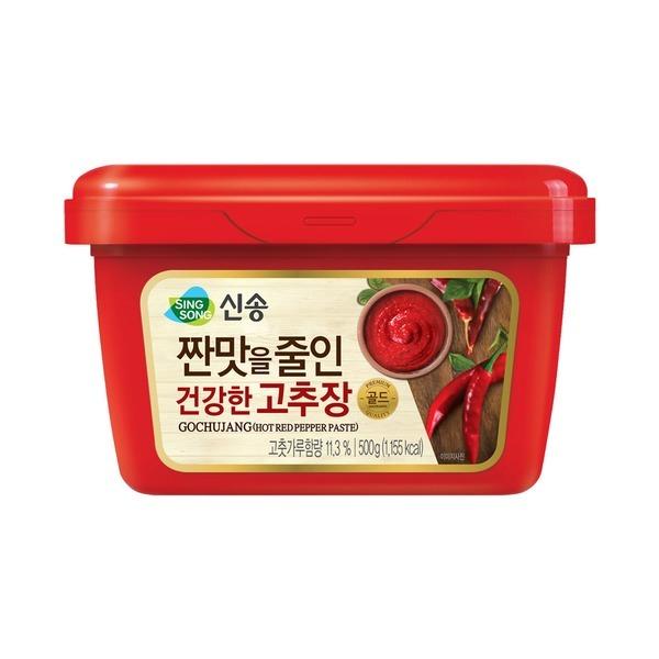 짠맛줄인 건강한 고추장 500g총3팩