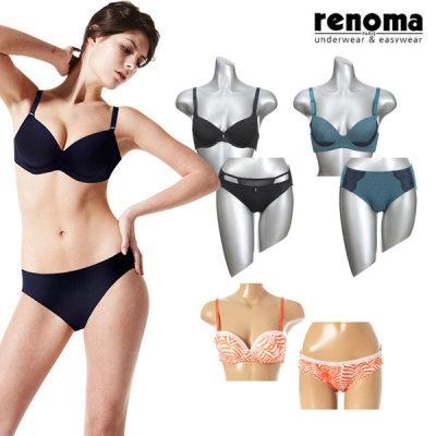 [레노마언더웨어] 레노마 여성 언더웨어 브라/팬티 세트/단품 구매