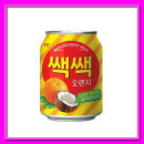 쌕쌕 오렌지 238ml 24캔