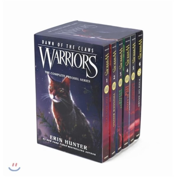 Warriors: Dawn of the Clans Set : Volumes 1 to 6   Erin Hunter