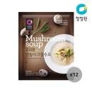 (신)우리쌀 양송이 크림수프 60g 12개